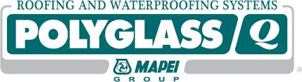 PolyGlass Roofing company logo